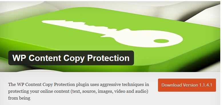 افزونه محافظت از مطالب وردپرس کپی رایت