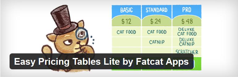 افزونه وردپرس جدول برای نوشتن قیمت