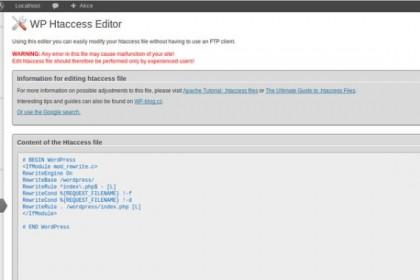 افزونه ویرایش فایل اچ تی اکسس بدون نیاز به ftp