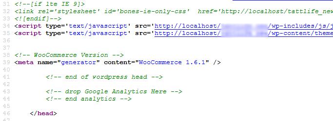 حذف تگ جنراتور ووکامرس Remove WooCommerce Meta Generator Tag